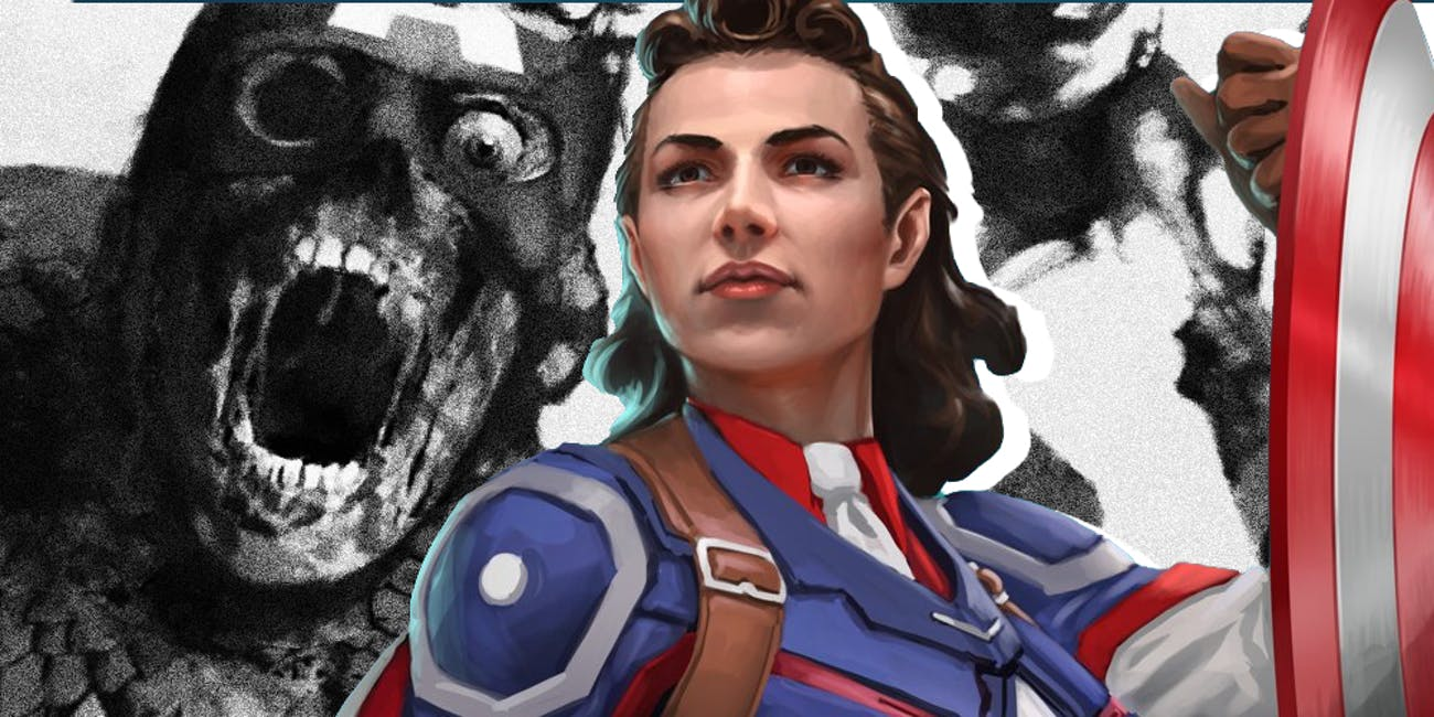 Marvel What If Peggy Carter Captain America Zombie