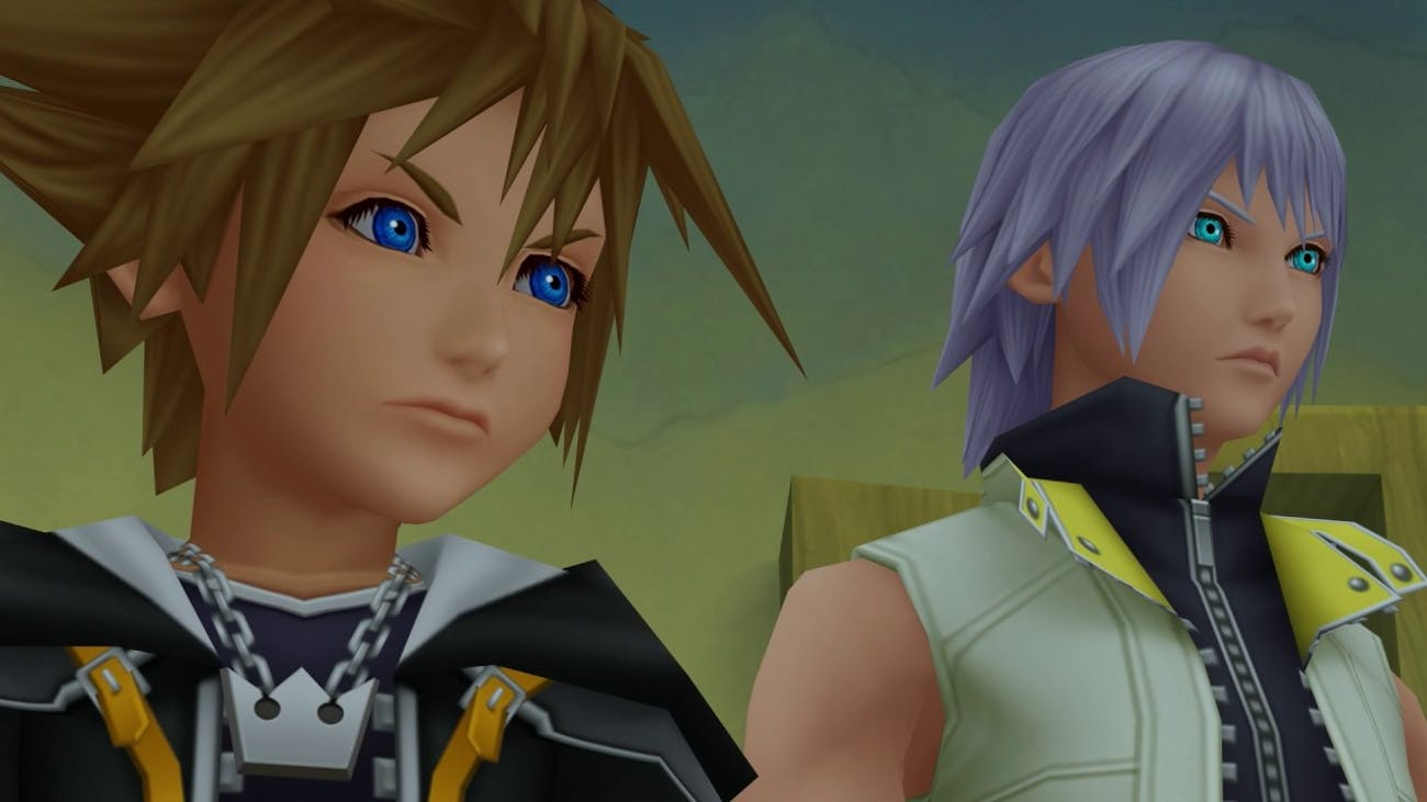 Sora and Riku's friendship isn't compromised when Riku gets a huge promotion and Sora does not in 'Dream Drop Distance'.