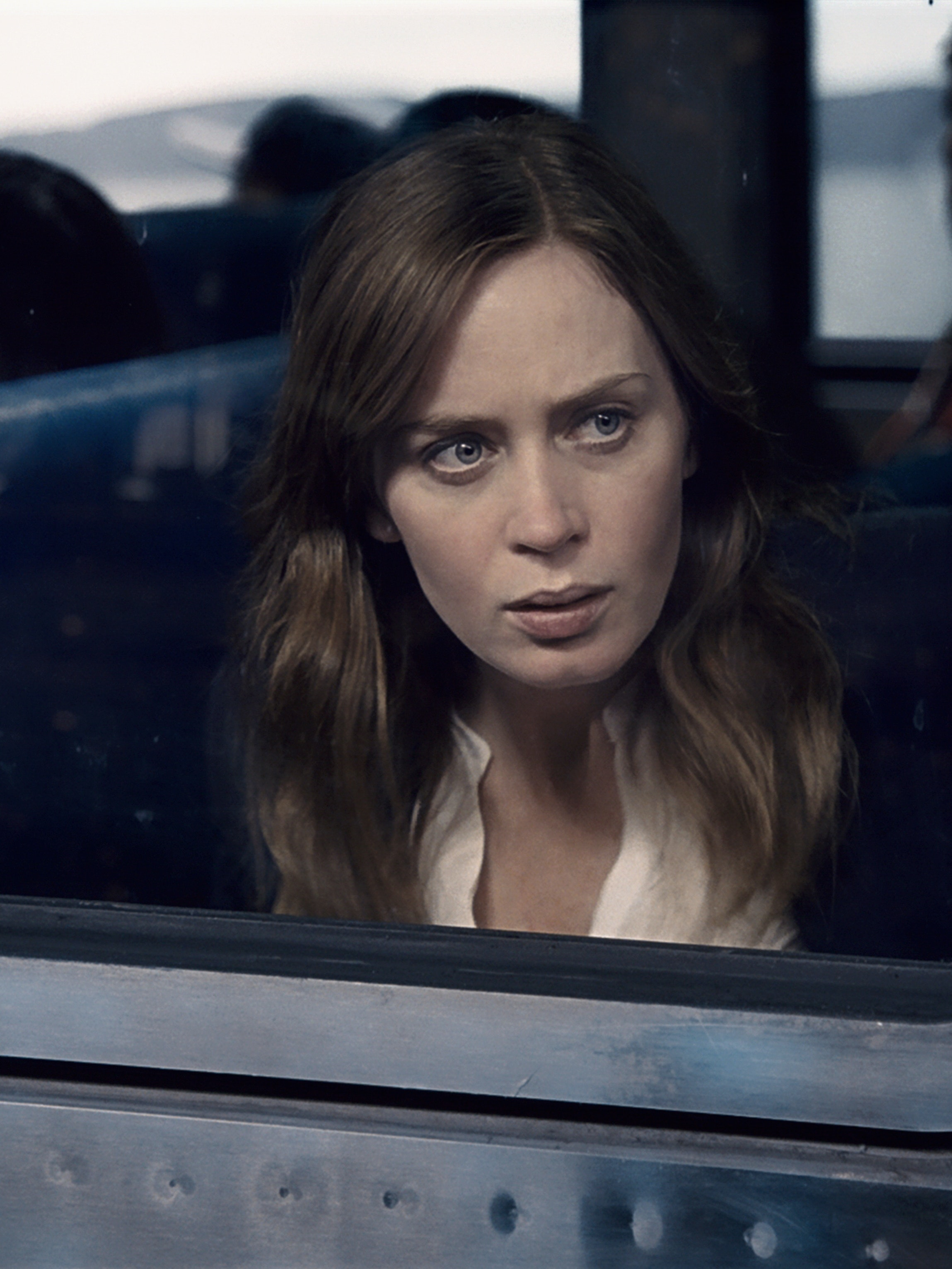Emily Blunt in 'The Girl on The Train'