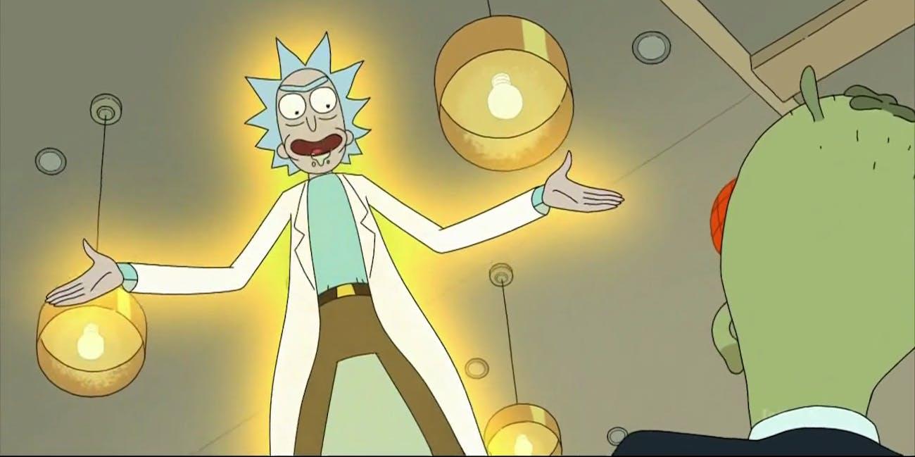 Rick Sanchez 'Rick and Morty'