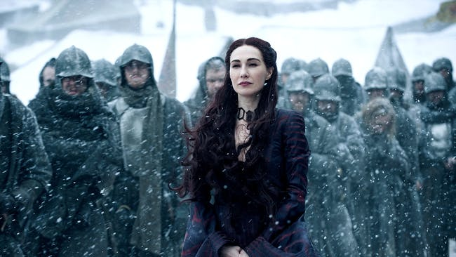 red woman game of thrones melisandre witch