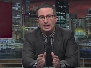 "John Oliver: Congress Must Admit Comey's Firing Is ""F*cked Up"""