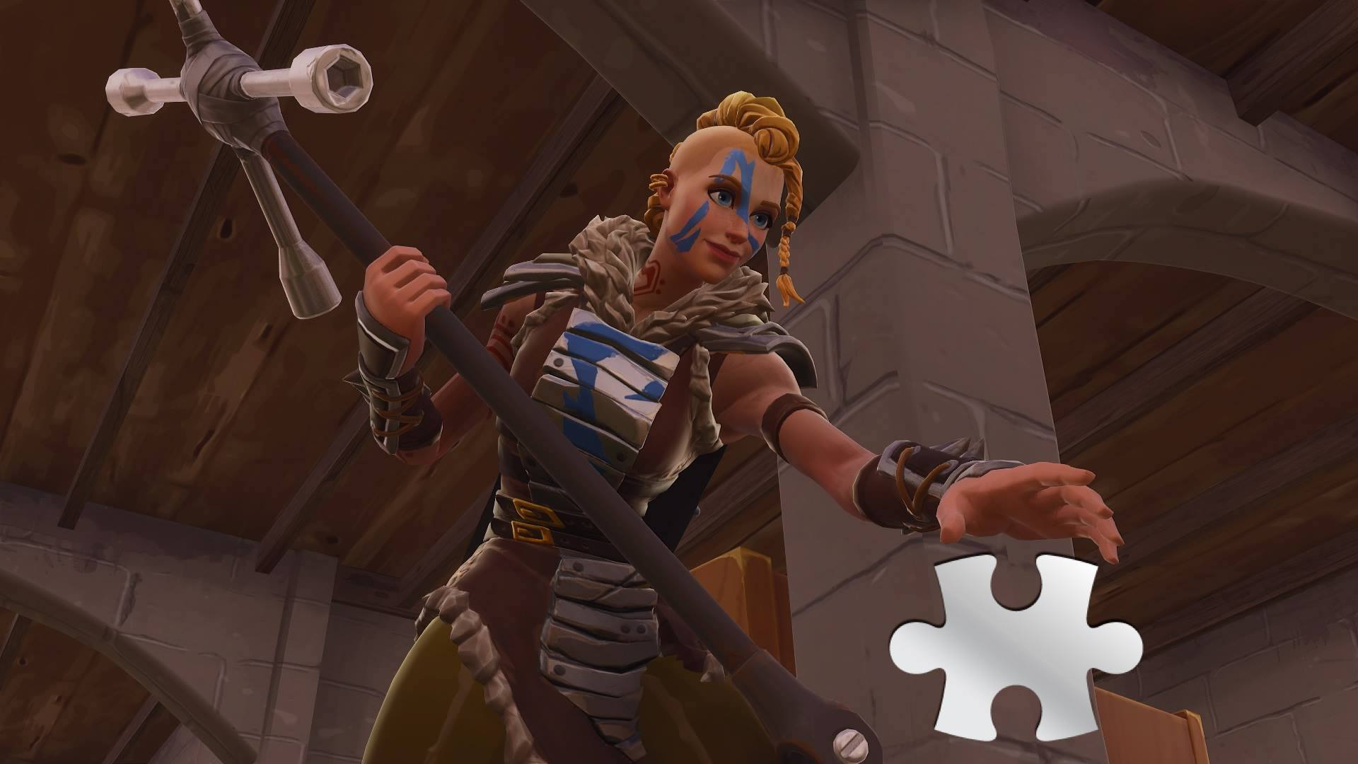 fortnite jigsaw puzzle pieces locations in basements map and video guide inverse - thats wet fortnite