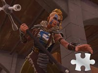 'Fortnite' Jigsaw Puzzle Pieces in Basements