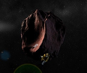New Horizons will visit 2014 MU69 next, a smaller object in the Kuiper Belt that is the size of the Chesapeake Bay.