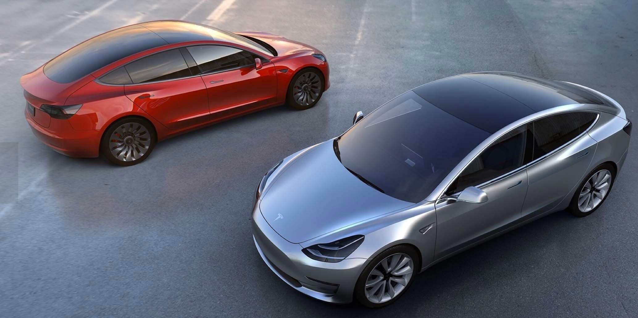 "215-Mile Range ""Tesla Model 3"" Electrifies the World"