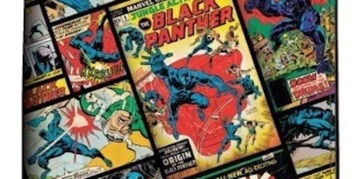 Marvel Black Panther Comic Bi-Fold Wallet