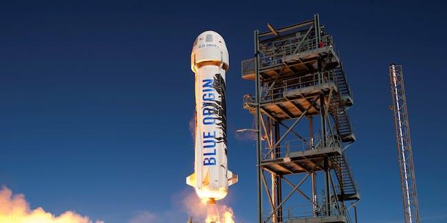 Blue Origin rocket