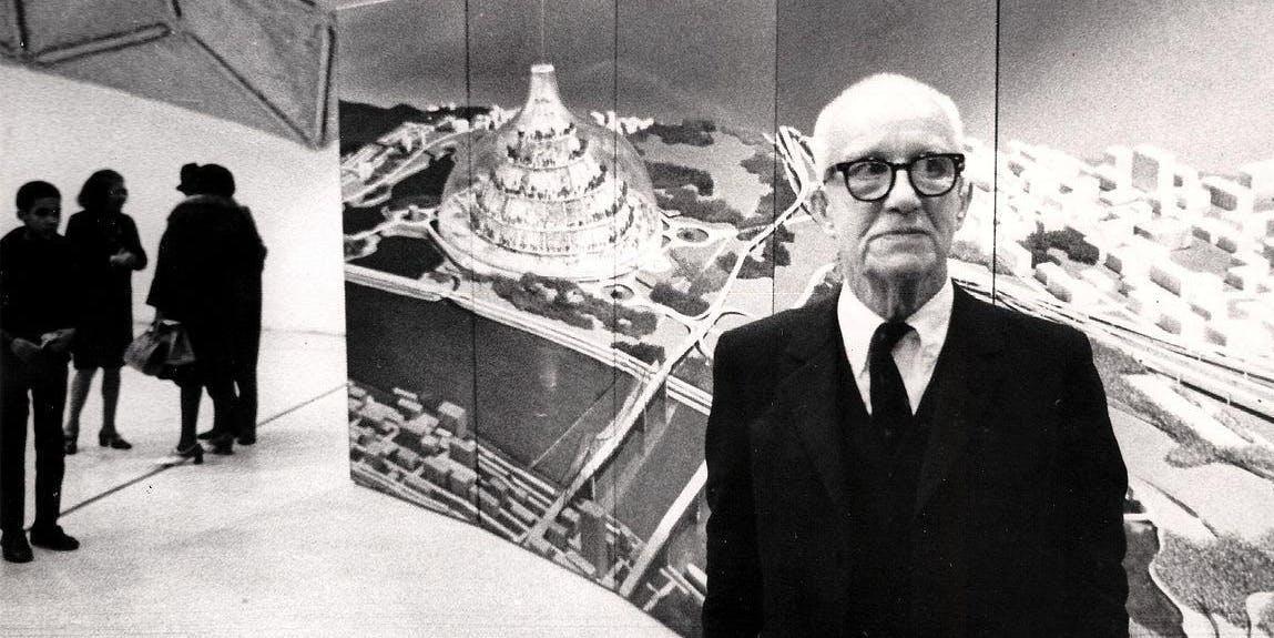 Buckminster Fuller was just one guy.