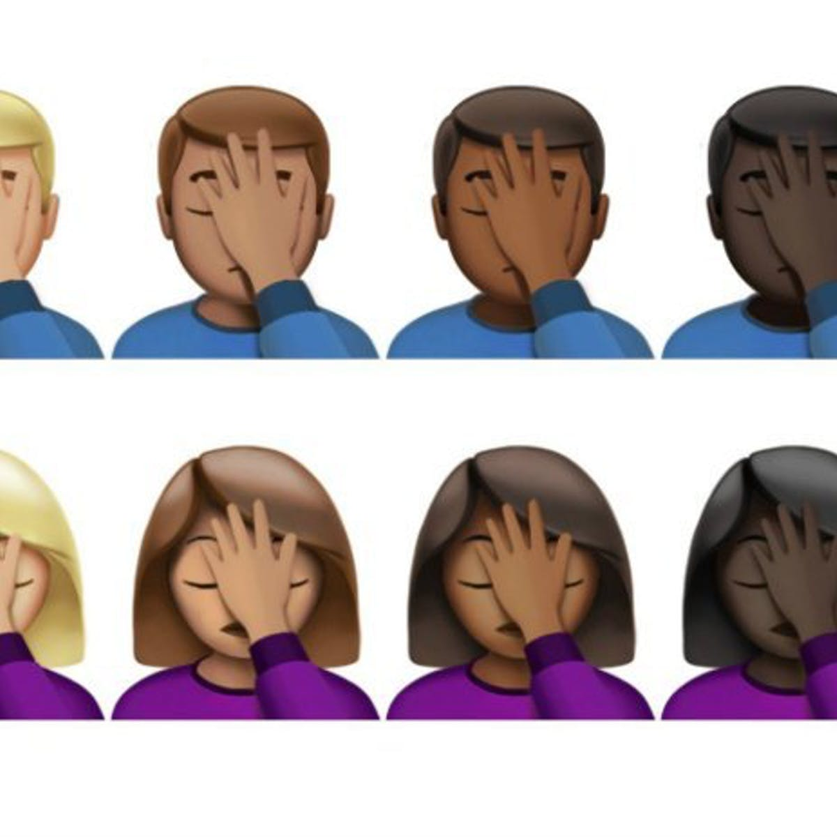 The Facepalm, the Newest Emoji, Dates Back Thousands of Years | Inverse