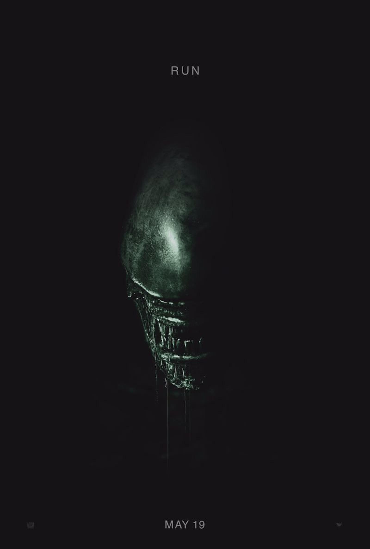New 'Alien: Covenant' Poster Reveals Nightmarish Neomorph