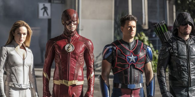 Arrow Flash Supergirl Arrowverse