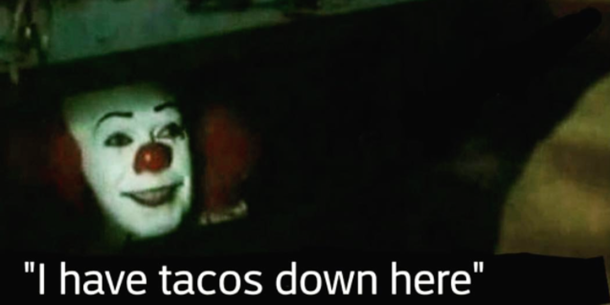 Funny I M Here Meme : The best it sewer clown memes inverse