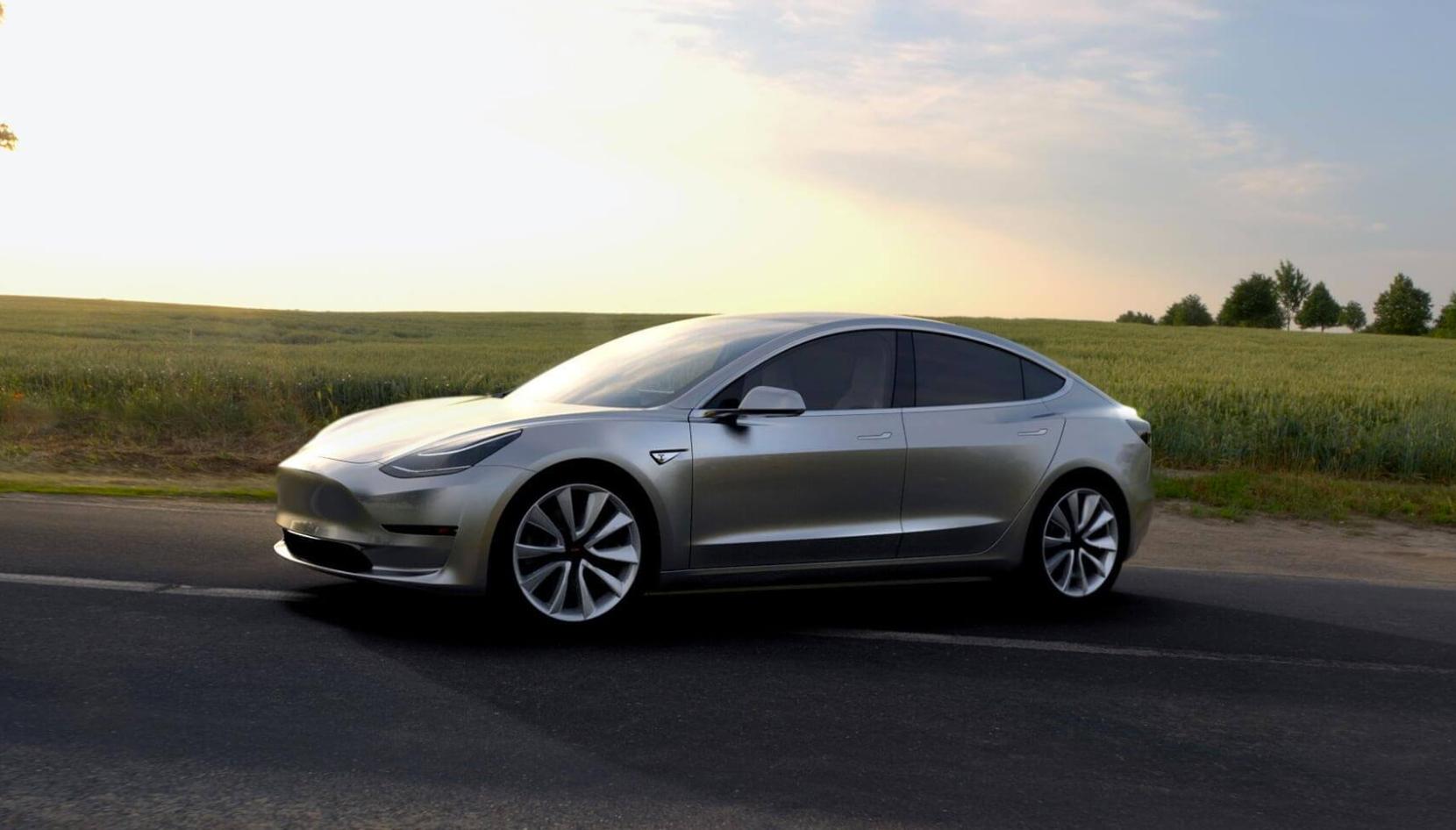 Tesla model 3 recharge time