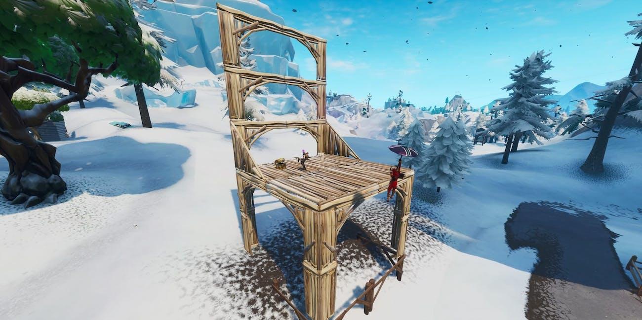 fortnite seat for giants