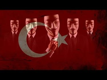 Anonymous Launches Cyberattack Against Turkey and ISIS