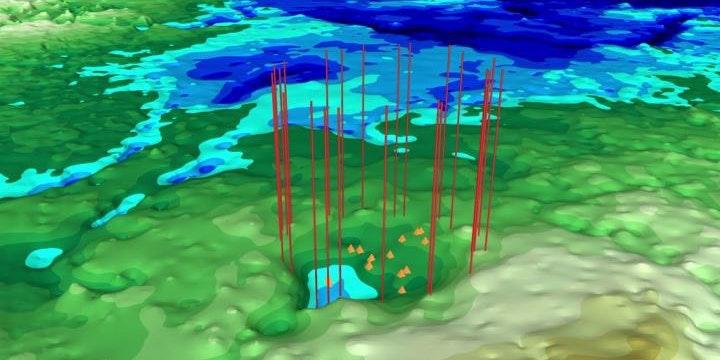 Greenland's Melting Ice Unmasks Evidence of Another Massive Meteorite Crash