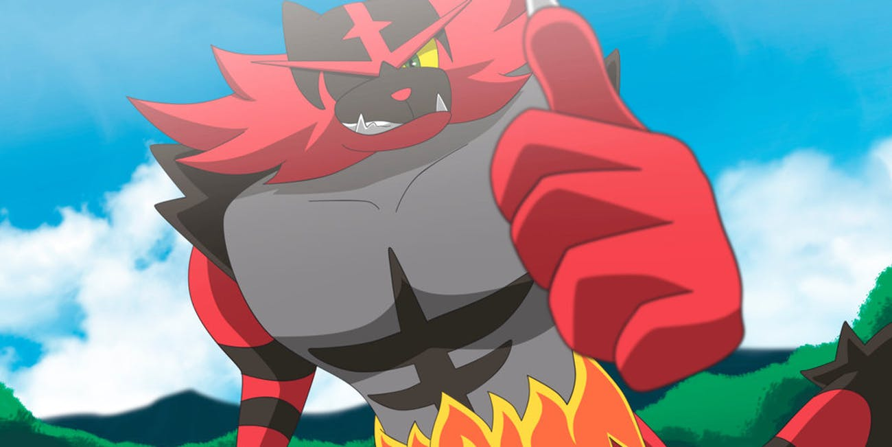 pokemon gen 7 Incineroar