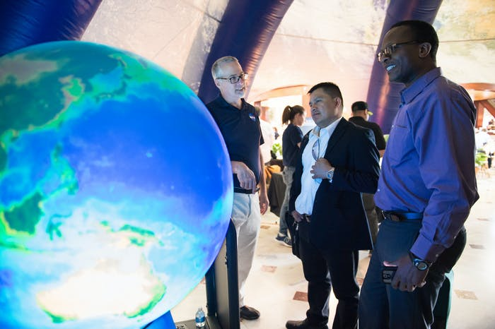 NASA will feature Earth Day exhibits, hands-on activities and demonstrations, as well as talks from NASA scientists, April 21 and 22 at Union Station in Washington.
