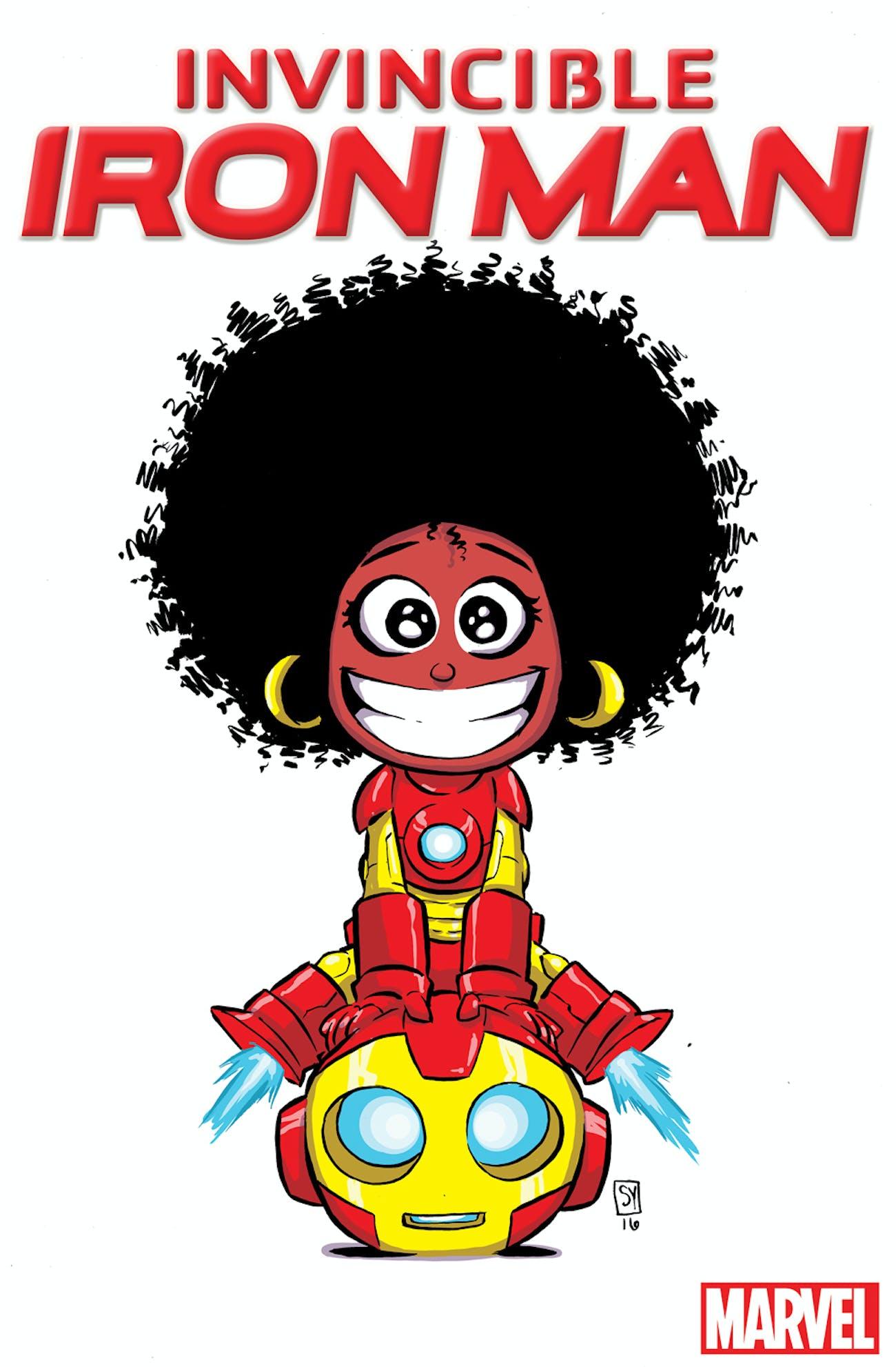 Skottie Young Riri Williams Ironheart Marvel