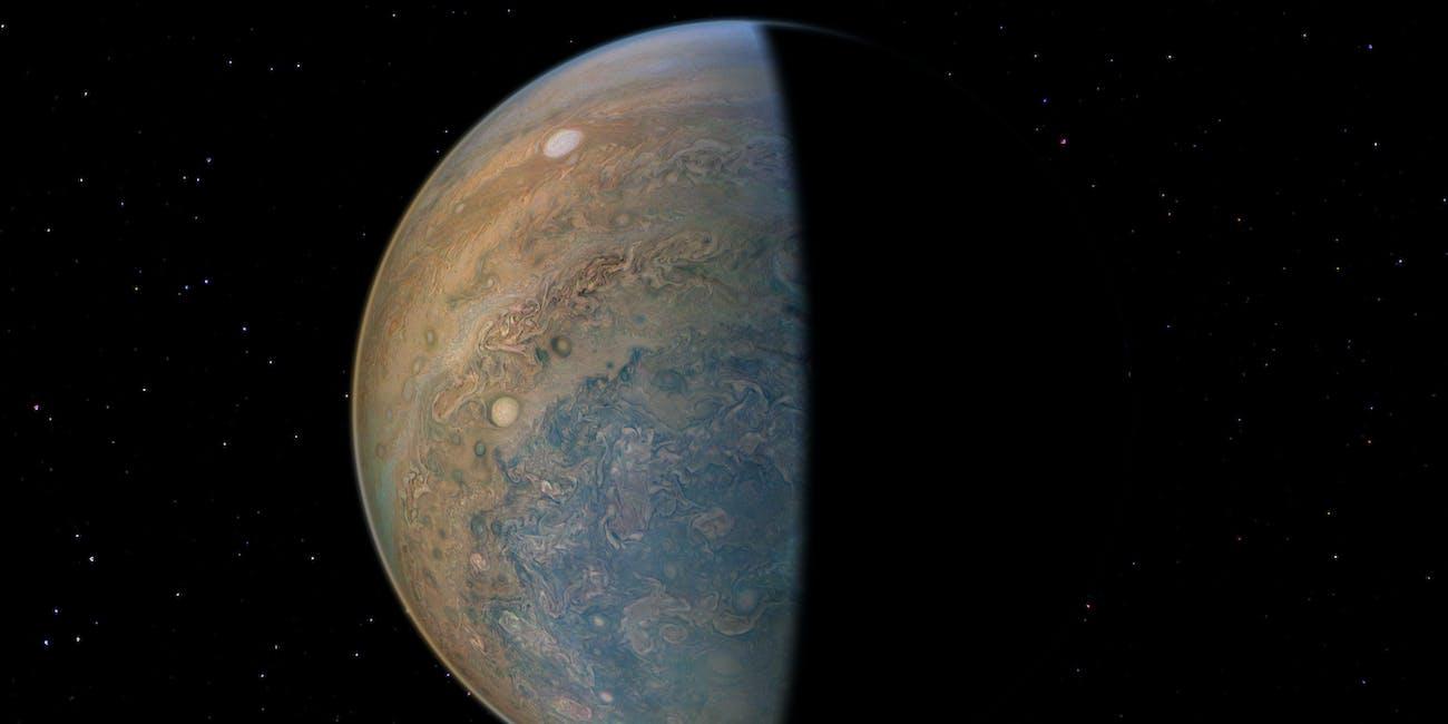 Jupiter NASA Juno