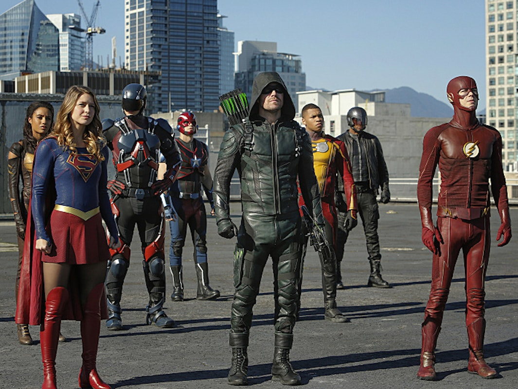 DC Arrow The Flash Supergirl crossover
