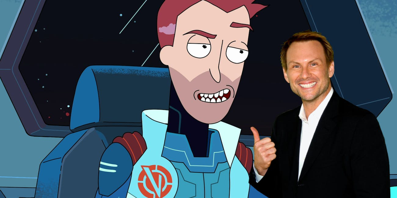 Christian Slater loved playing Vance Maximus in 'Rick and Morty' Season 3.