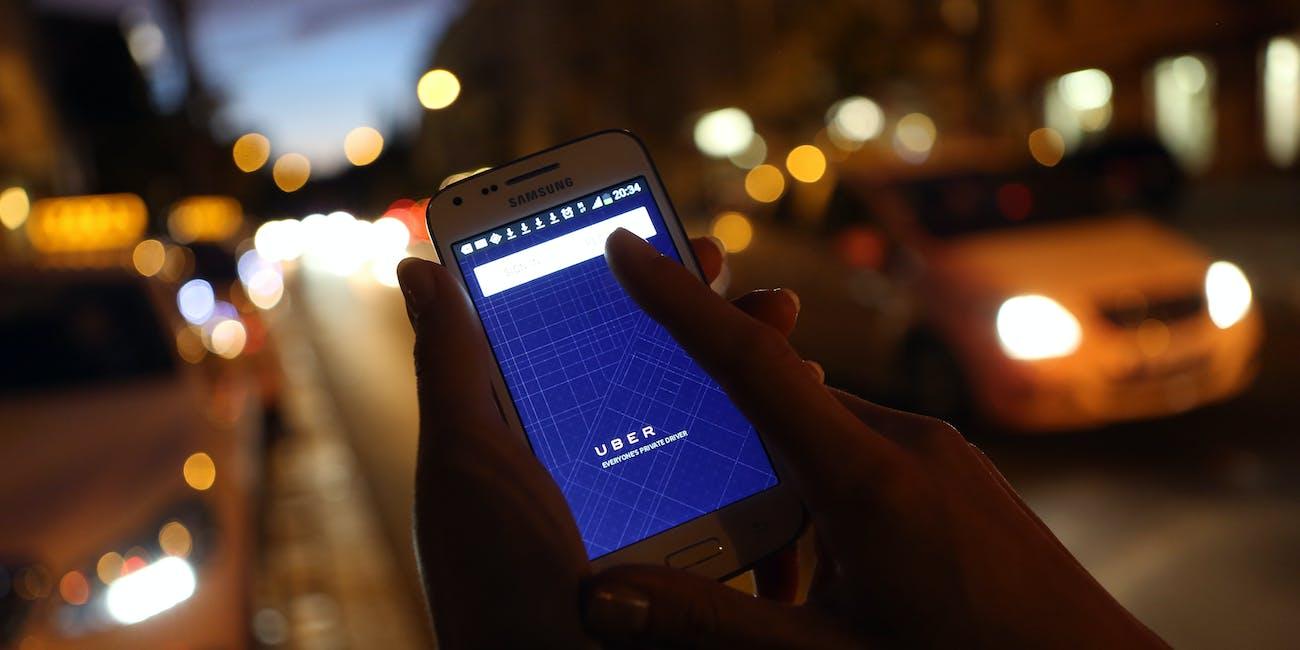 Uber Ratings App