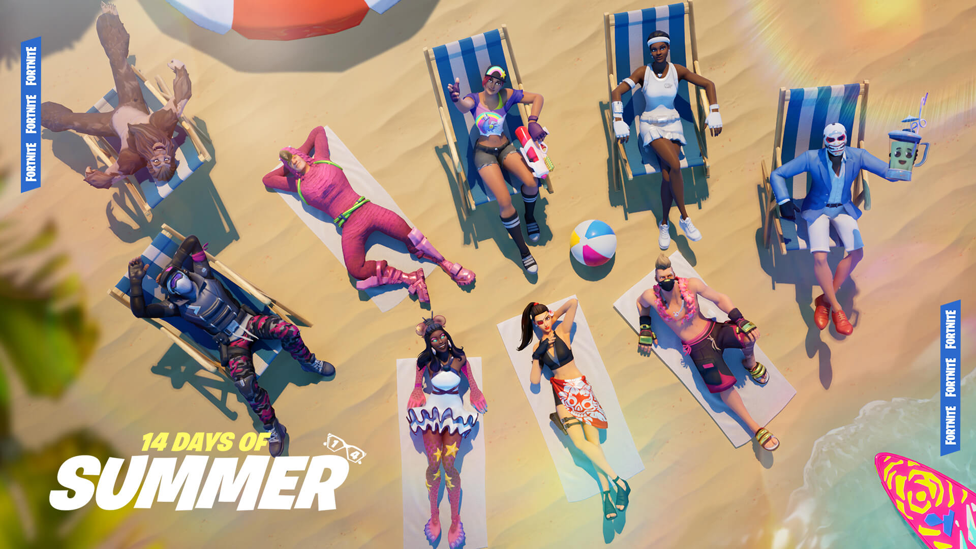 Fortnite 14 Days Of Summer Start Time Brings The Biggest Event Ever