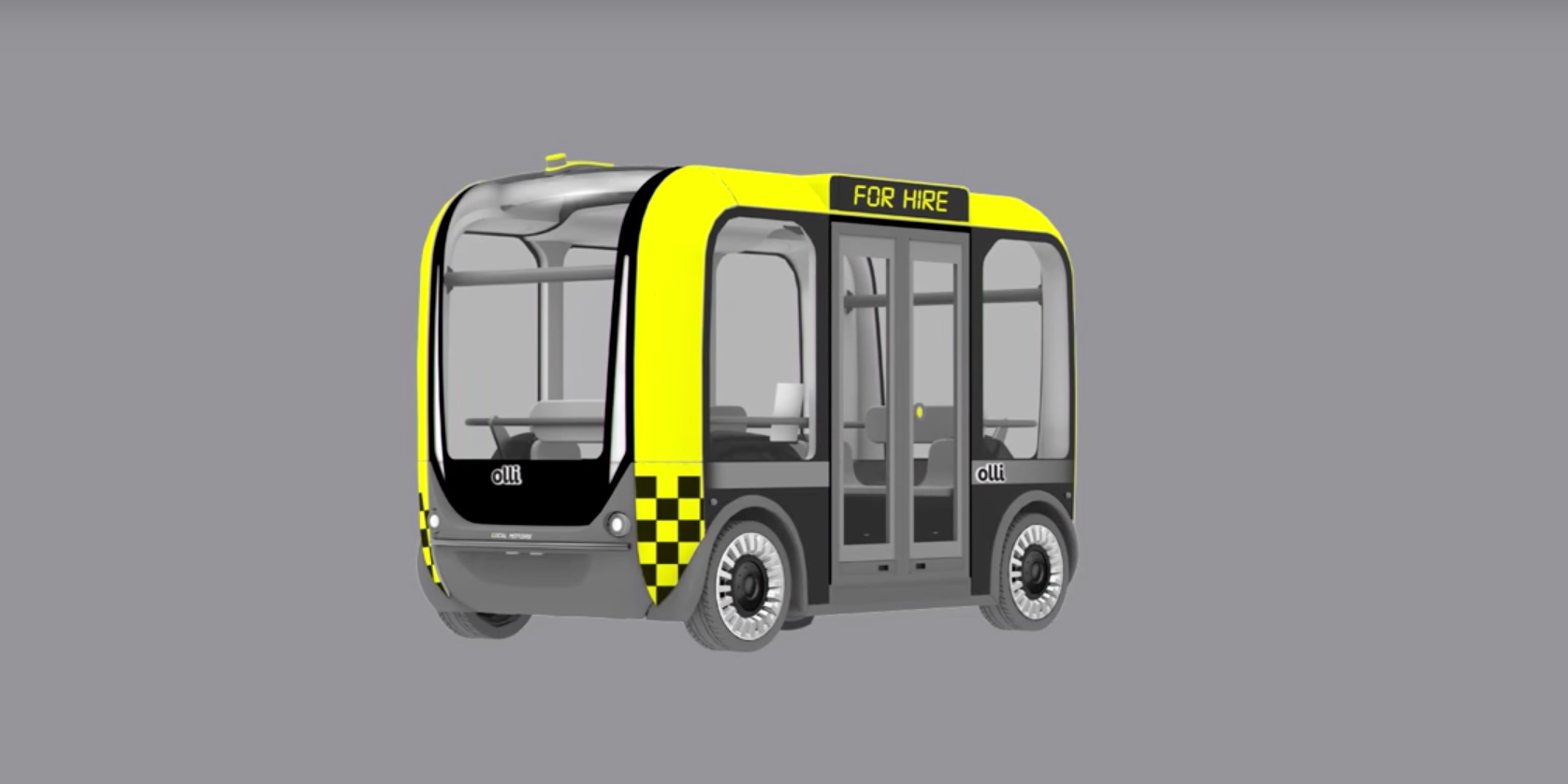 Your First Autonomous Vehicle Experience Will Be in a Bus Like This