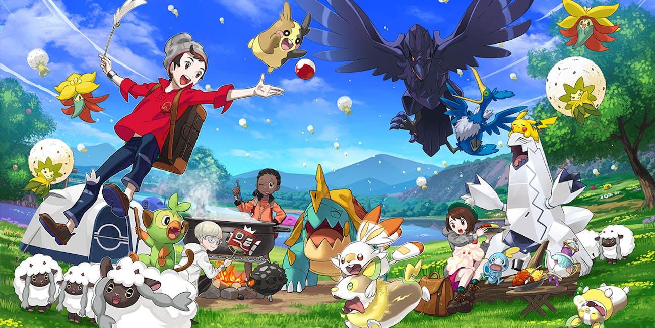 Image result for sword & shield pokemon