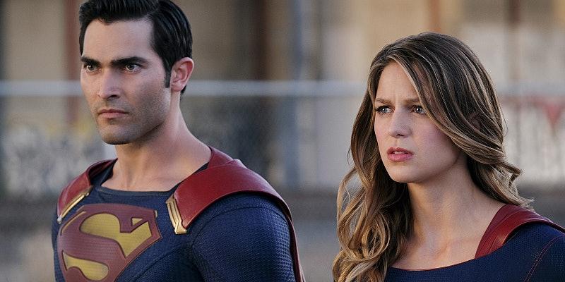 Superman Supergirl Melissa Benoist Tyler Hoechlin 'Supergirl' Season 2