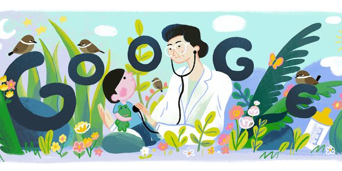 Fel del Mundo google doodle