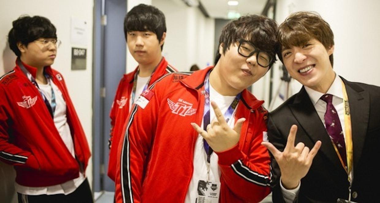 South Korean team SK Telecom T1