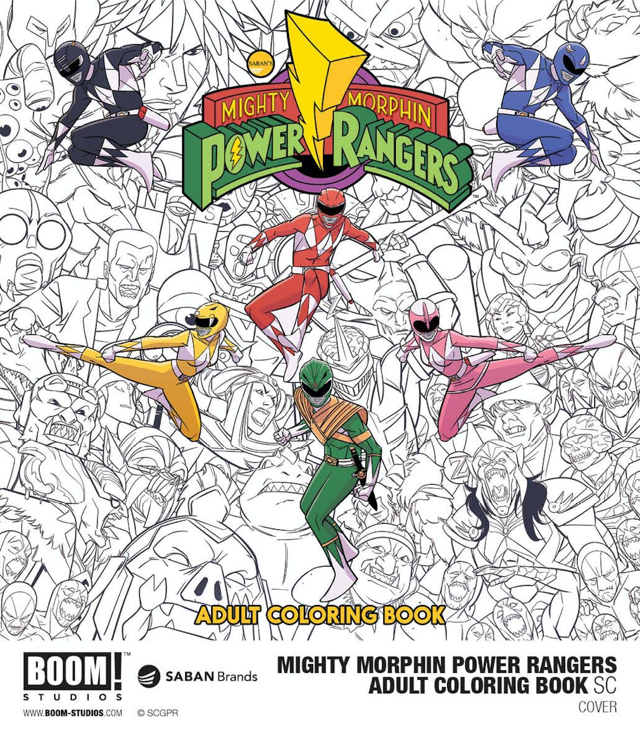 Power Rangers BOOM! Studios