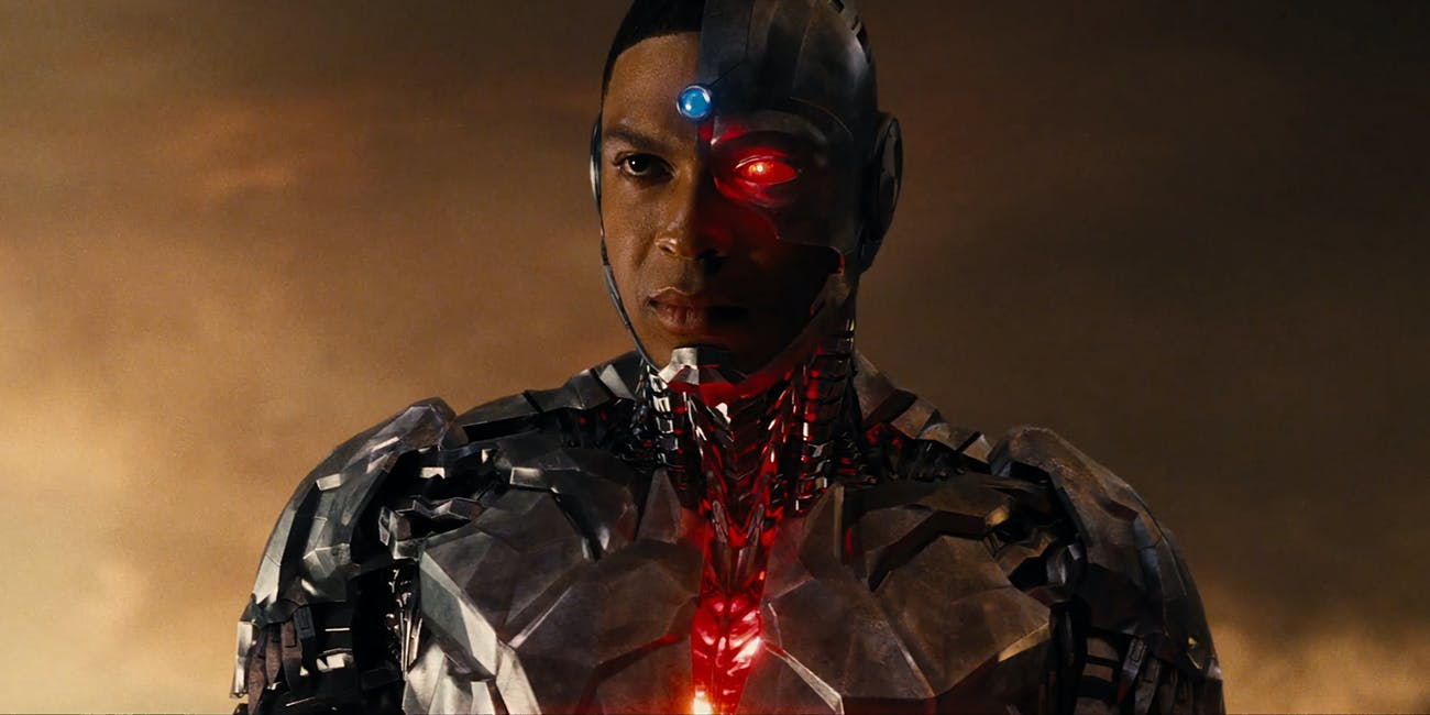Ray Fisher Releases Cyborg Still