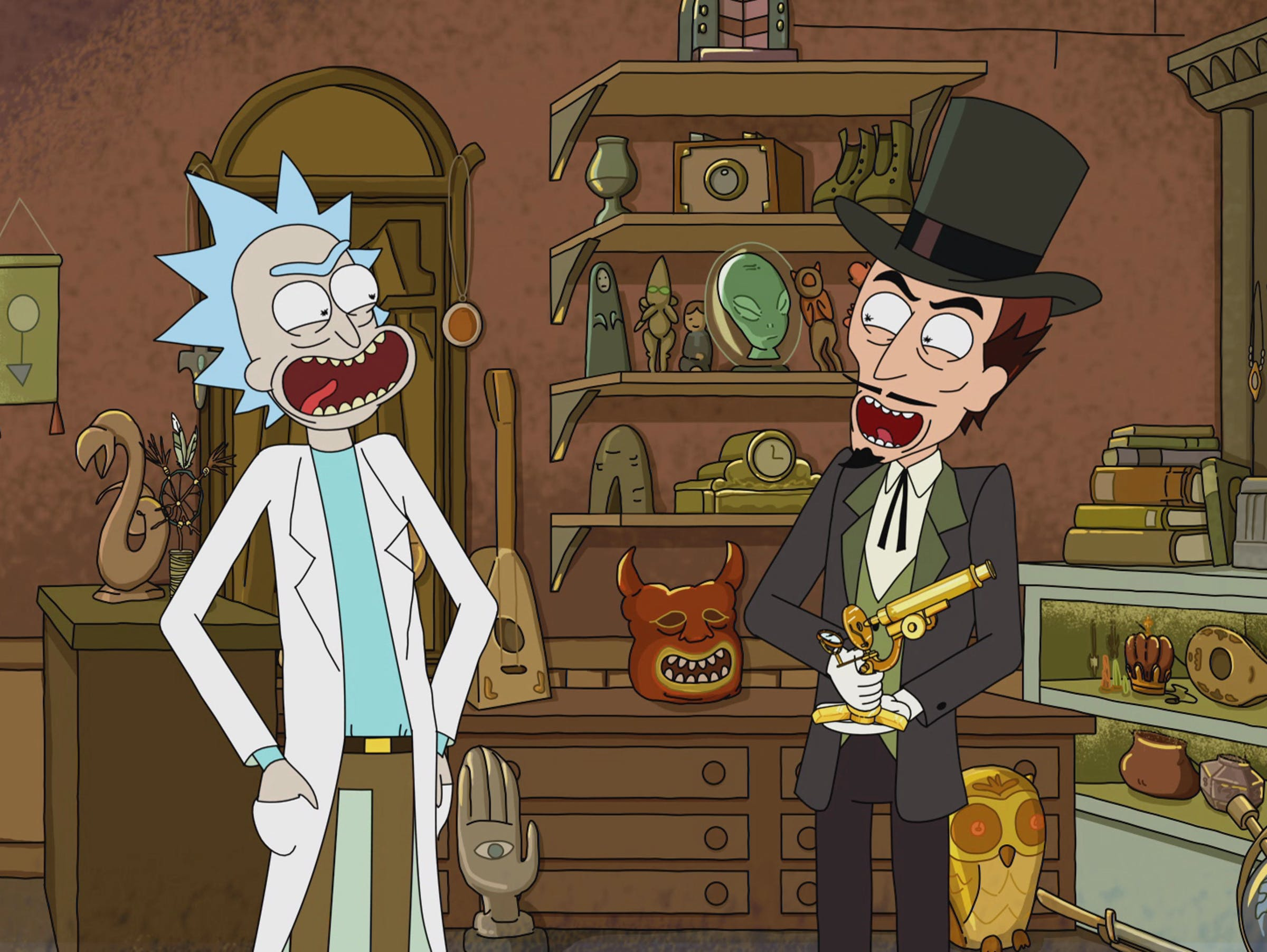 """'Rick and Morty' """"Something Ricked This Way Comes"""" Rick and the Devil"""