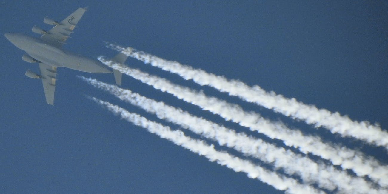 geoengineering climate change chemtrails