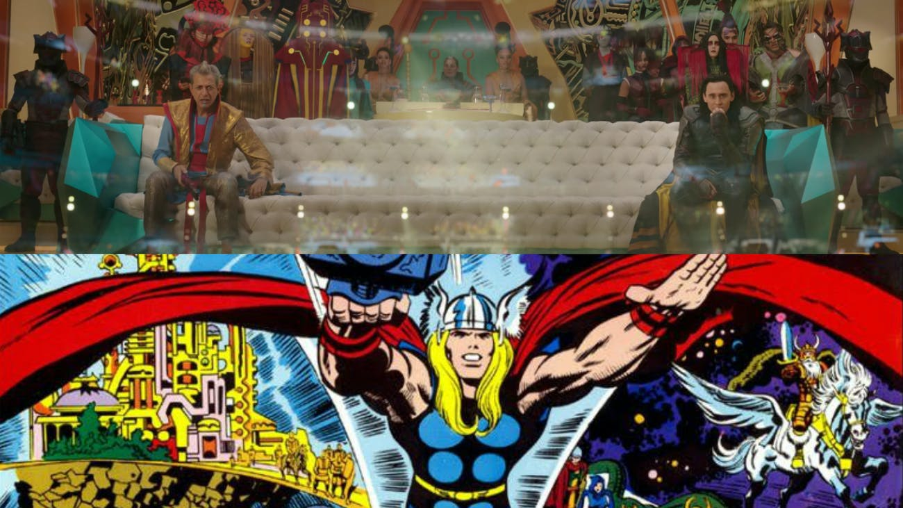 Thor Jack Kirby Ragnarok