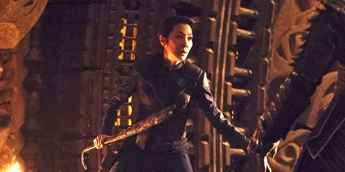Michelle Yeoh as Captain Georgiou in 'Star Trek: Discovery'