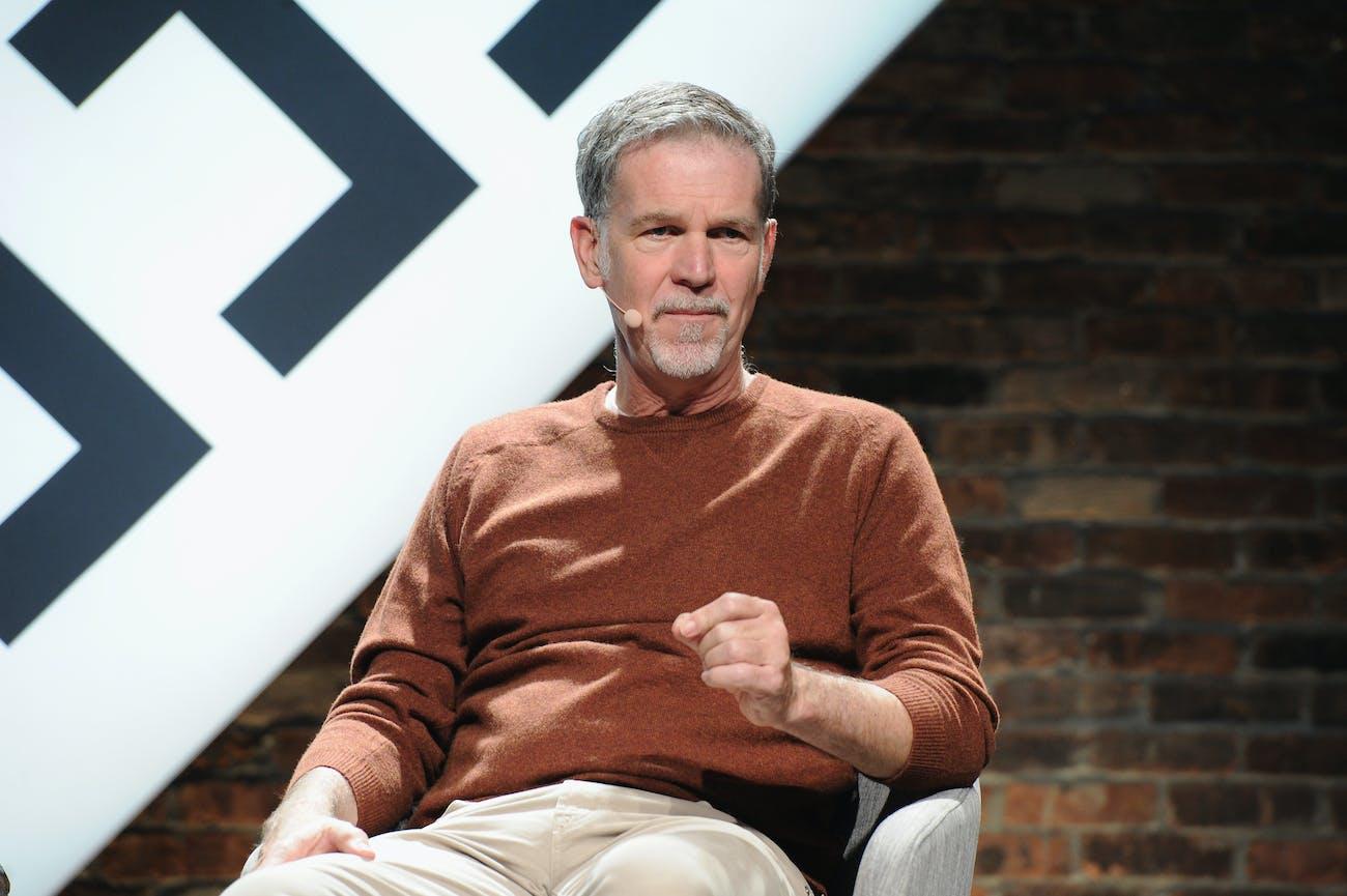 Reed Hastings Netflix Net Neutrality