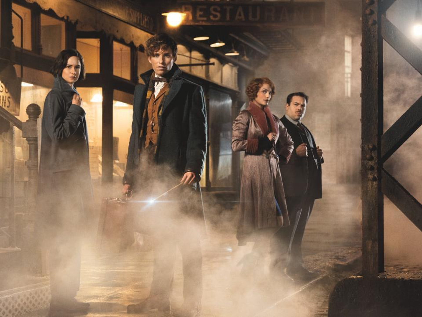 Fantastic Beasts tops the box office this week.