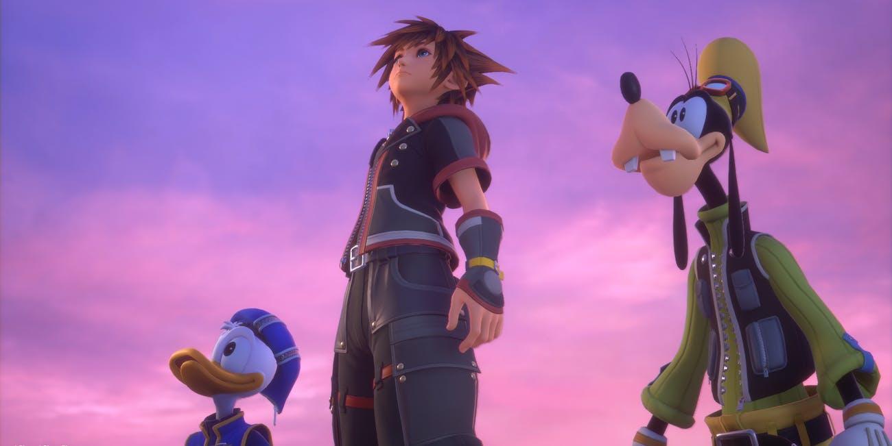 Kingdom Hearts III Sora Donald Goofy