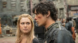 Bellarke in 'The 100' Season 4