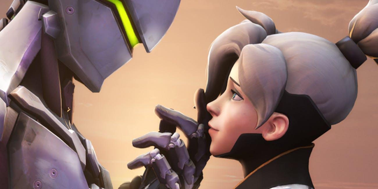 Overwatch' Datamine Reveals Romantic Talk Between Genji, Mercy   Inverse