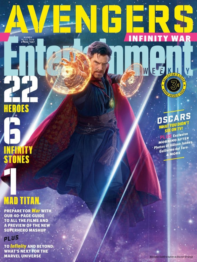 Marvel Infinity War Doctor Strange