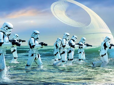 'Rogue One' Blasters Are Real Life Firearms in Sci-Fi Drag
