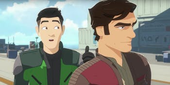 The protagonist of 'Star Wars Resistance' is Kaz, a new spy recruited by Poe Dameron.