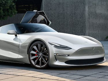 The 2019 Tesla Roadster Looks Gorgeous in This Concept Art