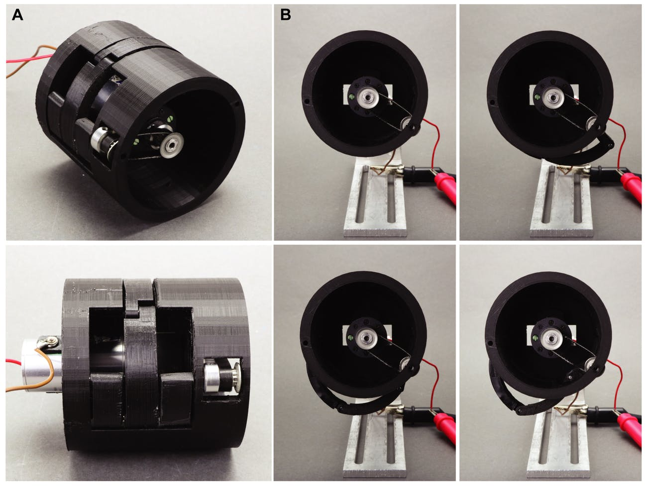 developed mechanical devices prototype